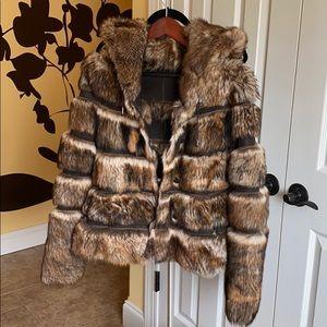 Viaveneto fur coat - size M